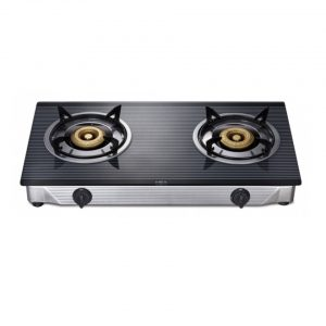 MEX glass table top gas stove 2 burners model PC577I3